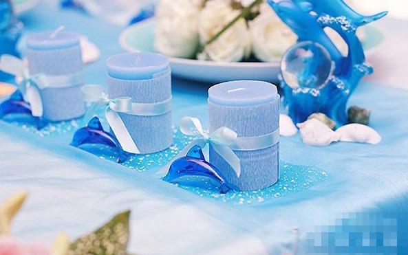 浪漫而温馨的蓝色主题婚礼策划方案