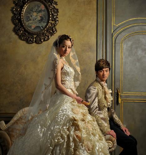 婚纱照中男士发型的重要性 (468x499)图片