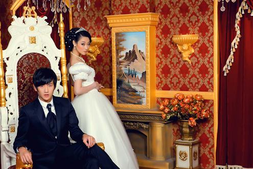 韩式pk欧式婚纱摄影,汕头拍婚纱照