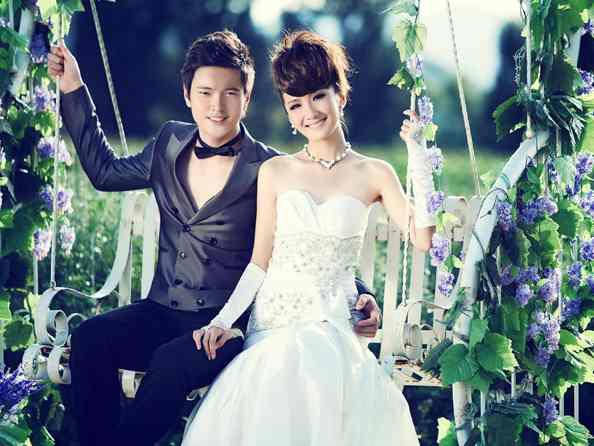 婚纱照_发型设计