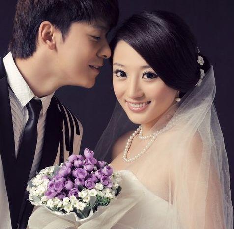 韩式新娘盘发