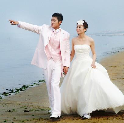 汕头婚纱摄影让伴娘伴郎留下美丽瞬间图片