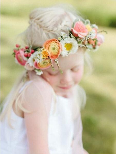 婚礼花童图片 婚礼上的可爱小天使