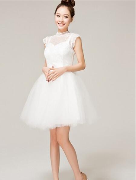 夏季新娘小礼服 展现最美的你