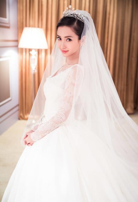 angelababy婚纱品牌 高定婚纱简直美翻了