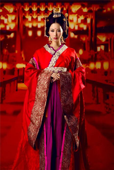 中国最美婚礼嫁衣 简直美翻了