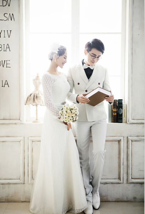 2016最新婚纱样片 甜美韩式风格