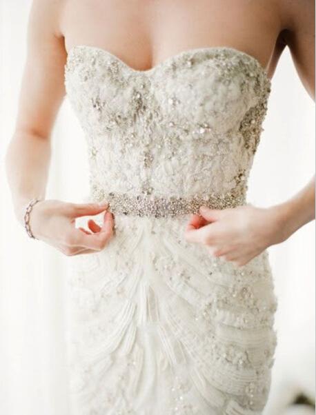 丰满新娘挑选婚纱礼服技巧