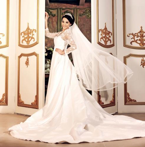 欧式宫殿奢华贵气婚纱照