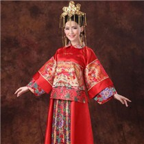 中式婚礼新娘服装图片 打造优雅新娘造型澄海婚纱照,澄海婚礼策划,汕头婚纱照,汕头婚礼策划