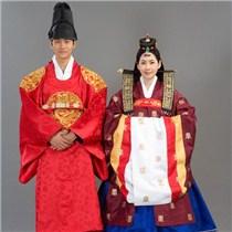韩国传统婚礼服饰图片 感受异国风情澄海婚纱照,澄海婚礼策划,汕头婚纱照,汕头婚礼策划