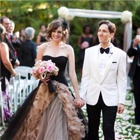 绝美的黑色礼服搭配 穿出时尚个性澄海婚纱照,澄海婚礼策划,汕头婚纱照,汕头婚礼策划