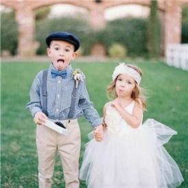 波西米亚风婚礼现场小花童服装造型 吸引你目光澄海婚纱照,澄海婚礼策划,汕头婚纱照,汕头婚礼策划