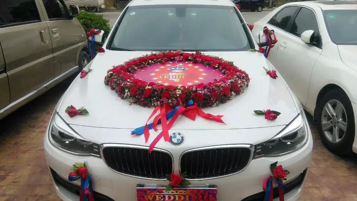 个性婚礼彩车案例007澄海结婚彩车多少钱