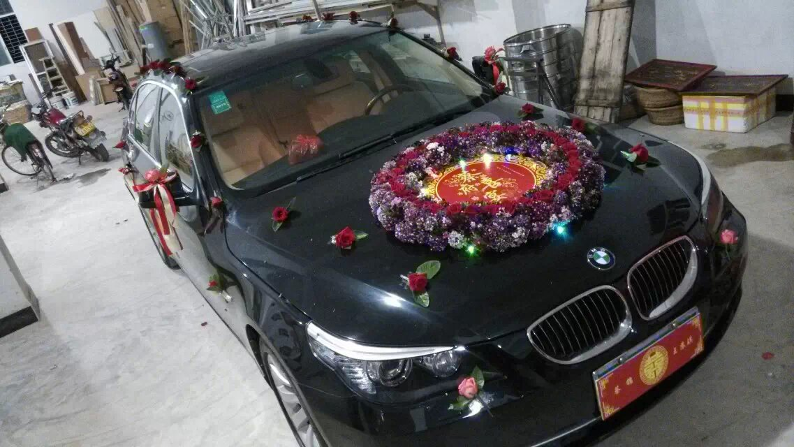 个性婚礼彩车案例003澄海迎亲彩车图片欣赏