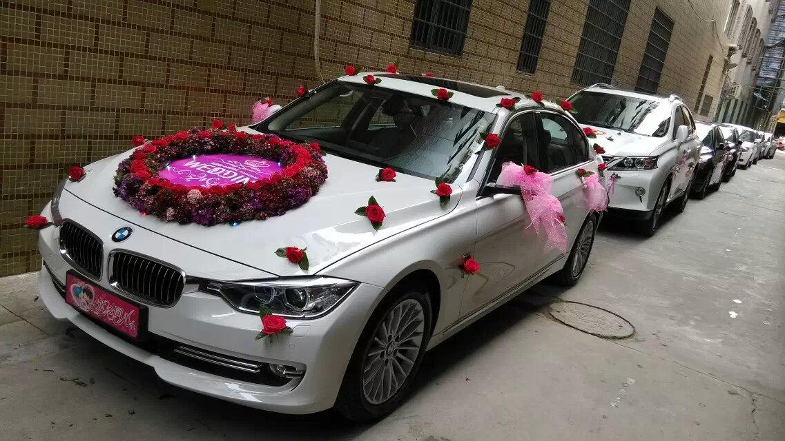 个性婚礼彩车案例002澄海上门彩车图片欣赏